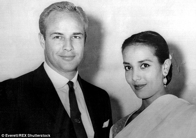 Passed away: Actress Anna Kashfi, the first of Marlon Brando's three wives, has died at the age of 80