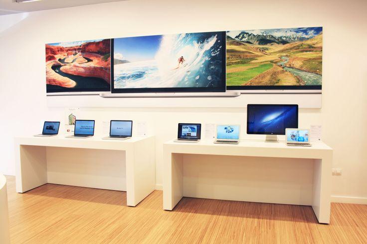 Encuentra en #K-tuin #ACoruña tu tienda #Apple con toda la gama de #productos, pruébalos en la misma tienda. Descubre cientos de accesorios para tu #iPad, tu #iPhone o tu #Mac, todo en un ambiente profesional en el que te ayudaremos en todo lo que podamos.