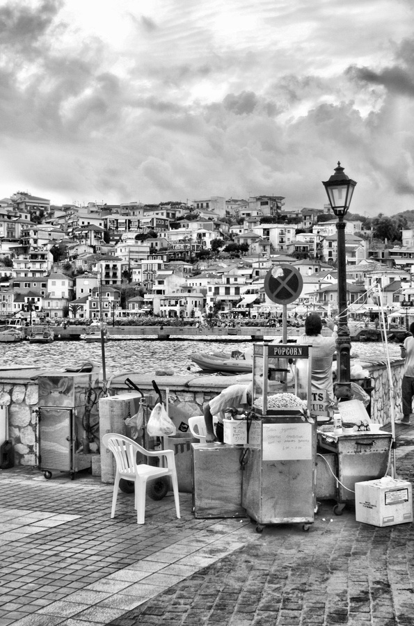 Parga in Preveza, Epirus, Greece