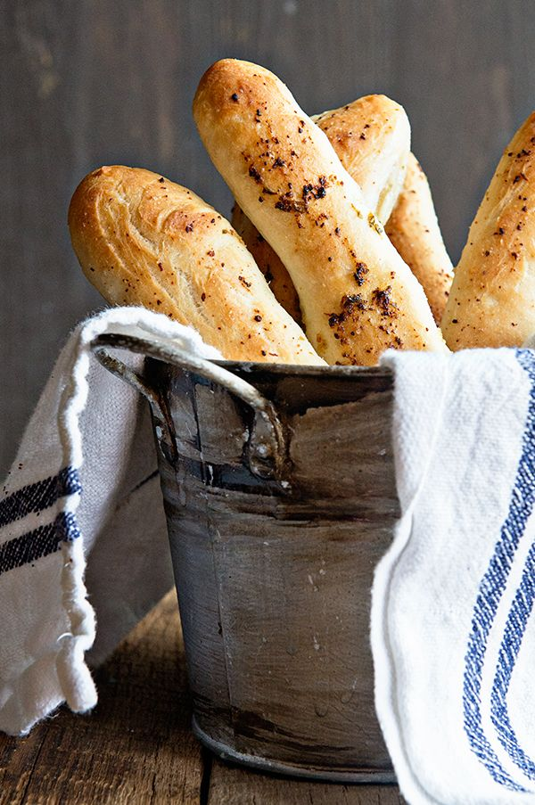 how to make breadsticks without yeast