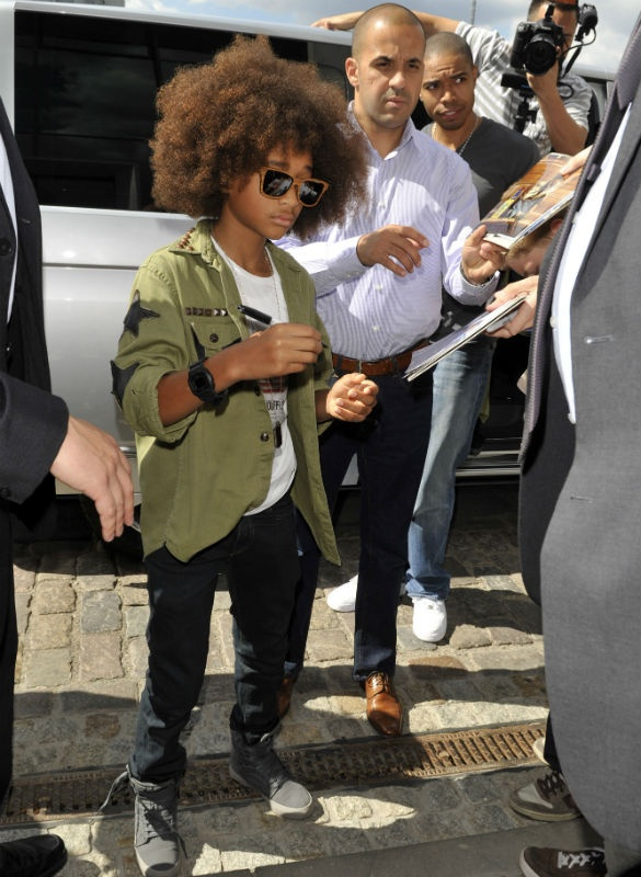 Jaden Smith it's afro time!