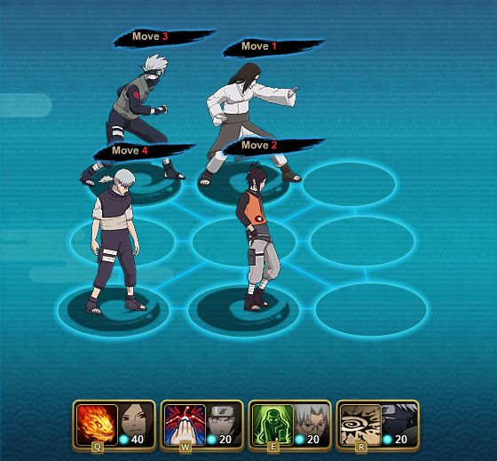 Naruto Online Build Teams For Ranked