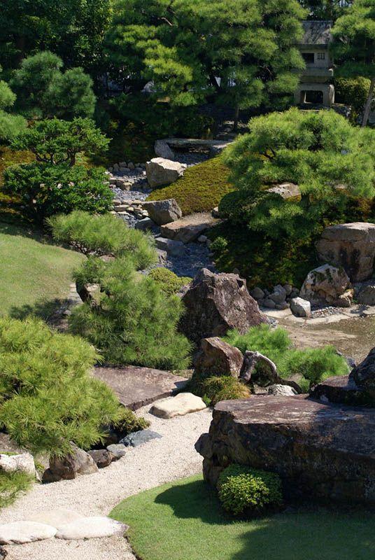 Paisagismo em jardins japonêses, Jardim asiático e Jardim japonês