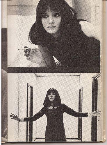 anna karina 1960s
