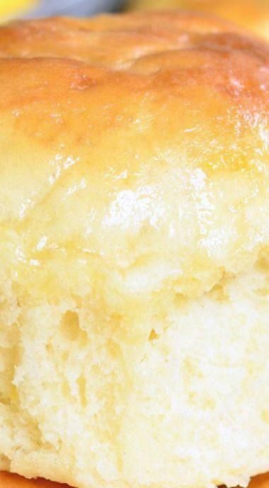 Honey Lemon Dinner Rolls