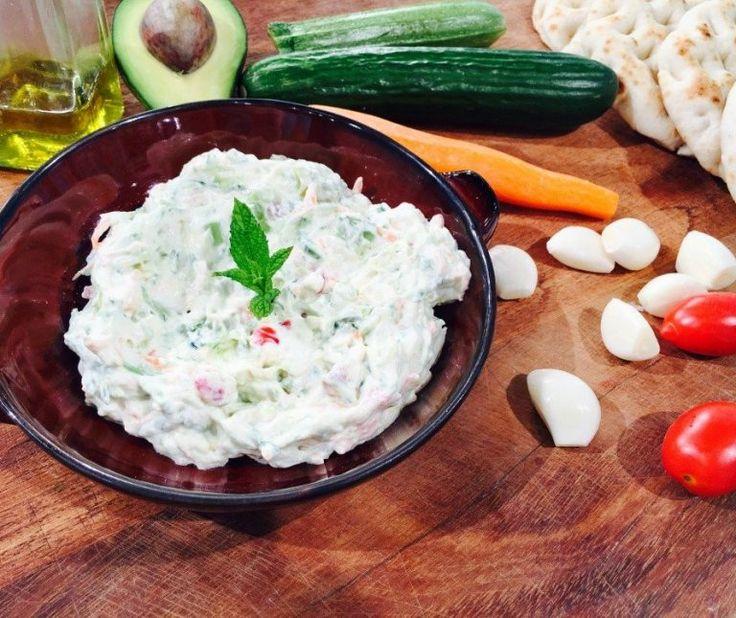 Τζατζίκι (λαχανικών) της Αργυρώς