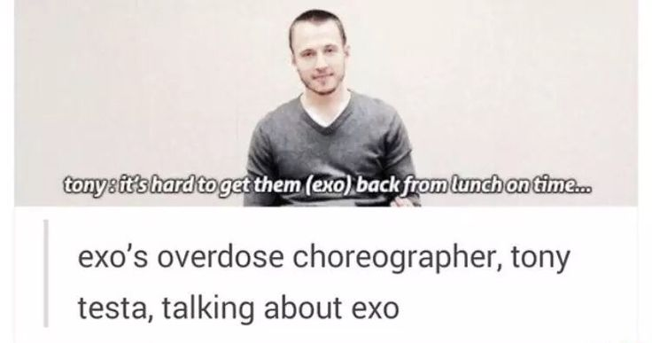 Turns out he also choreographed Wolf (Exo) and Fire Truck (NCT 127)!!