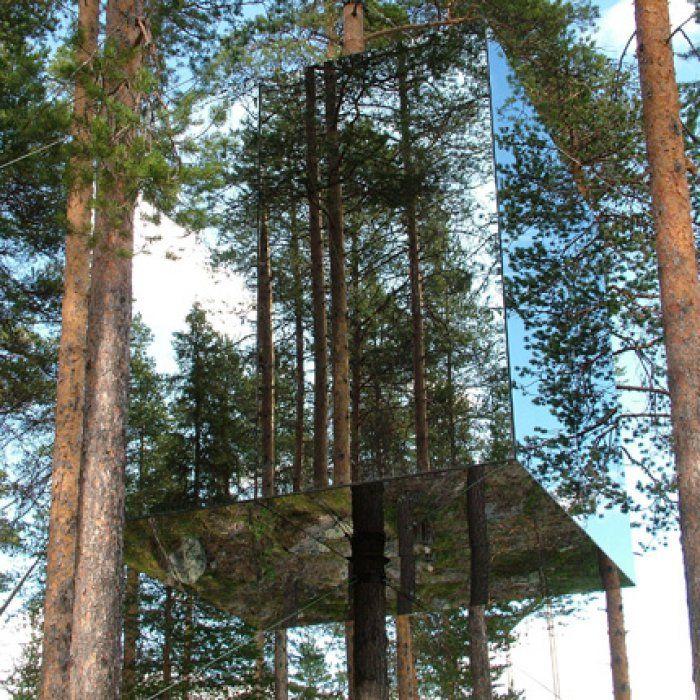 Treehotel, un hôtel atypique au nord de la Suède