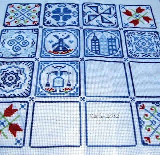 Creative Workshops from Hetti: SAL Delfts Blauwe Tegels, Deel 10 - SAL Delft Blue Tiles, Part 10.