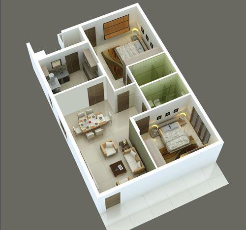 Best 25+ 2bhk House Plan Ideas On Pinterest