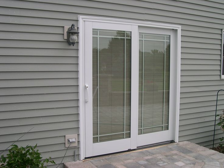 17 best ideas about Patio Doors With Blinds on Pinterest | Sliding ...