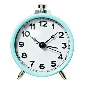 Lot 94 Femme Round Desk Clock Teal