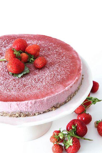 ... frozen strawberries dairy free raw vegan sweets tooth cashew cake cake