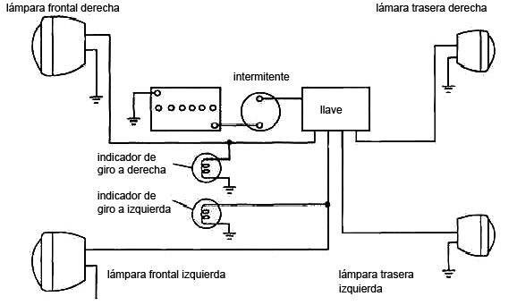 Resultado De Imagen Para Ver Diagrama Electrico De Luces De Emergencia De Automovil Diagram Floor Plans
