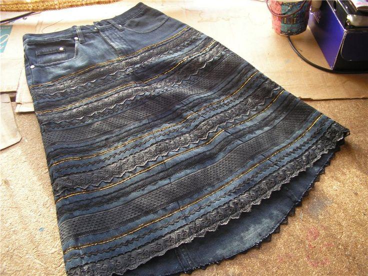джинсовые лоскутные юбки своими руками: 10 тыс изображений найдено в Яндекс.Картинках