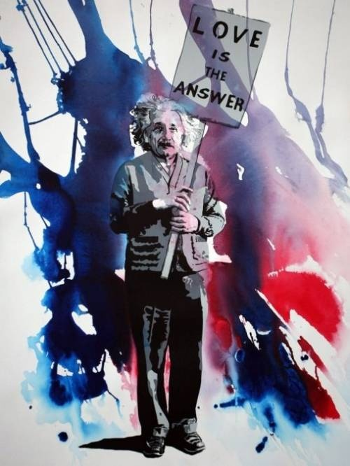 Would love to make  crayon art piece with Einstein and his quote about fish being judged by their ability to climb a tree