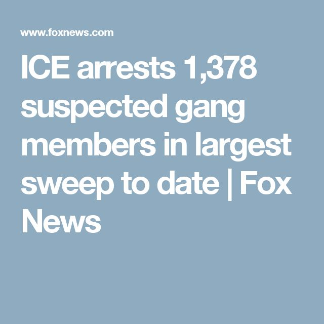 263 arrested in nationwide MS-13 gang sweep