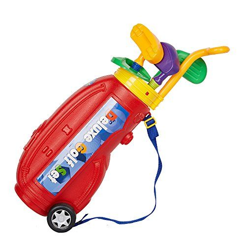 Golf Games Collection | COLORTREE Easy Hit Toy Golf Set Children Sport Golf Cart ** See this great product. Note:It is Affiliate Link to Amazon.