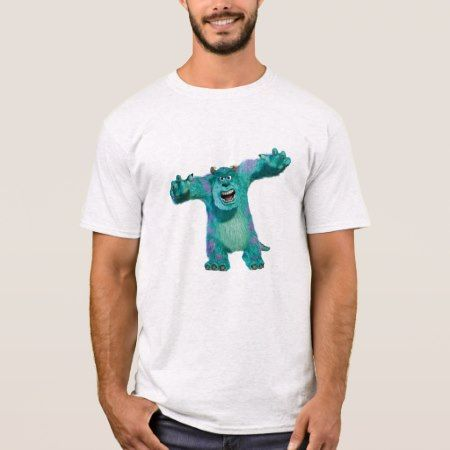 Monster Inc. Sulley scary Disney T-Shirt - click/tap to personalize and buy