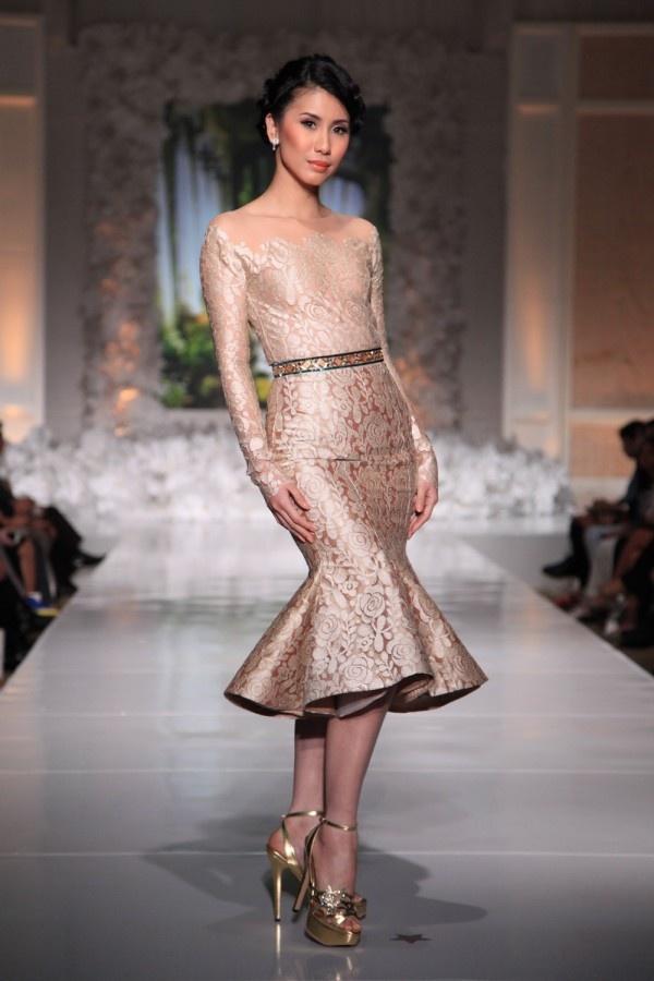sexy indonesia designer dress