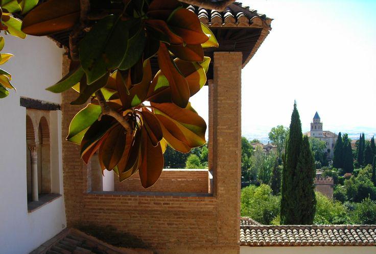 Malaga - Twierdza Alcazaba.