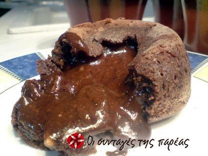 Το τέλειο σουφλέ σοκολάτας #sintagespareas