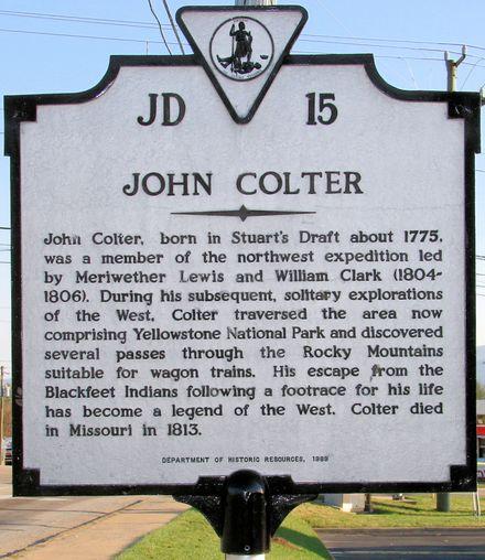 John Colter - Wikipedia, the free encyclopedia