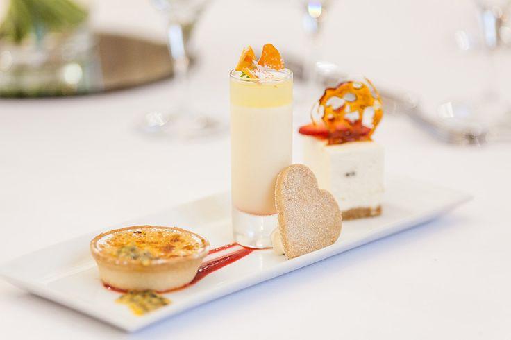 Galloping Gourmet - Trio of Desserts #WeddingFood