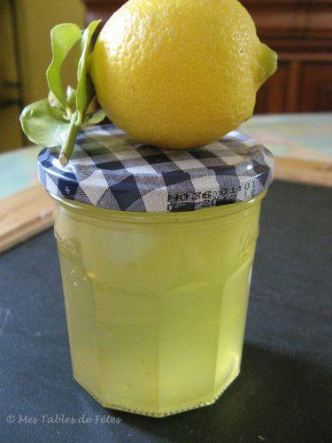 Futilités: Gelée de citron et romarin