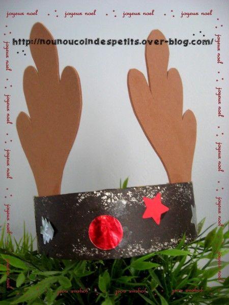 - petite couronne du renne de noel