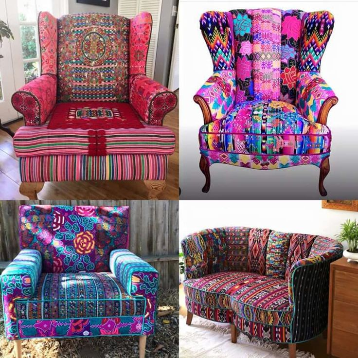 The 25 best funky chairs ideas on pinterest yellow make for Funky fabric dining chairs