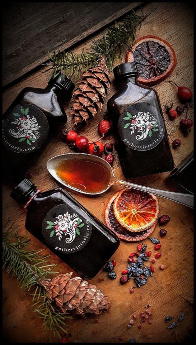 Winter Medicine: Delicious & Warming Tonic Syrups