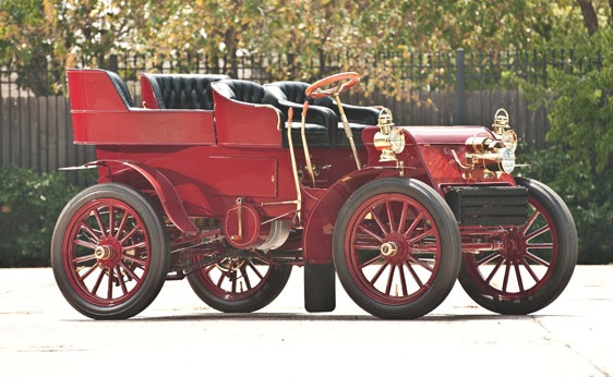 1902 Packard Model F Rear-Entry Tonneau - (Packard Motor Car Company Detroit, Michigan 1899-1958)