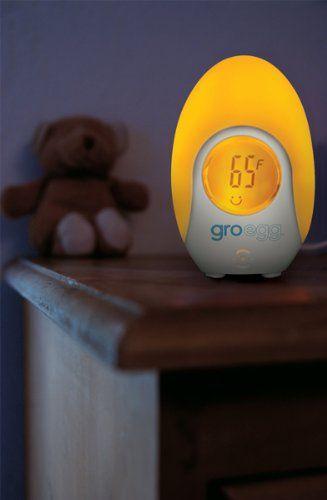 The Gro Company Gro-Egg Room Thermometer: Amazon.co.uk: Baby