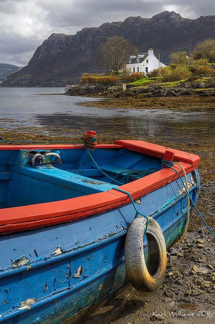 Little hidden fishing village in Scotland - Scotland Made Easy has excellent accommodations nearby! - British Country Clothing offer a great range of quality British made clothing ideal for country pursuits