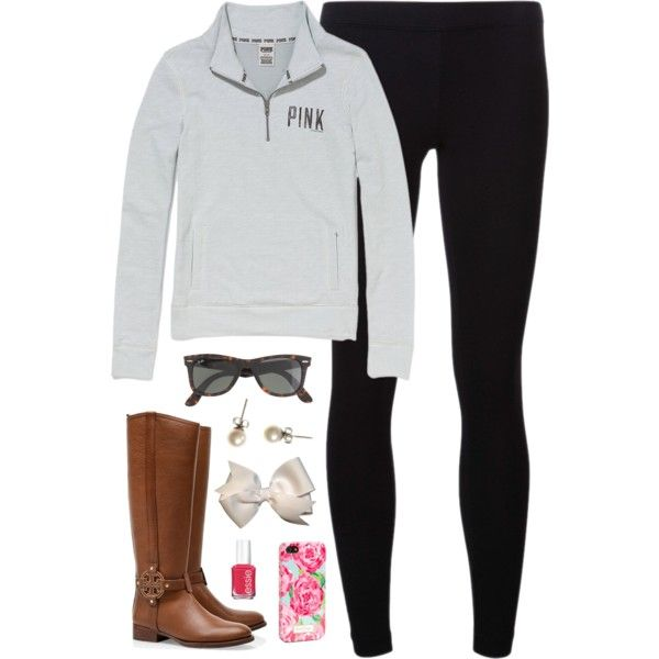 """VS Pink"" by classically-preppy on Polyvore"