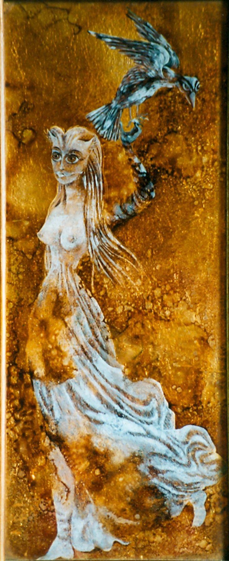 Woman and Bird, 1950. – Remedios Varo Remedios Varo