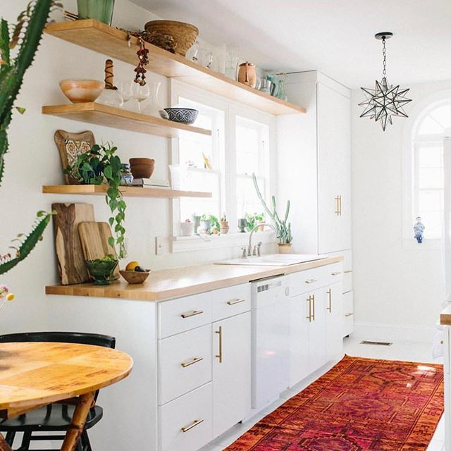 Hanging Open Kitchen Shelves: What If You Made Some Minor Updates To Your Kitchen