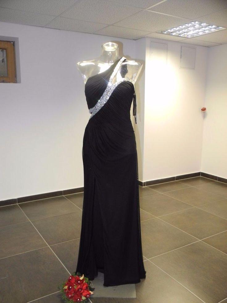 Edel Abendkleid Abiballkleid   Sylvester Kleid    Ausstellungsstück  gr 38