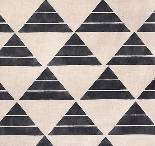 These new textiles from Zak + Fox are gorgeous. Inspired by a Japanese fairytale, they're perfectly geometric.