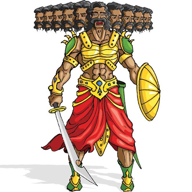 Best Ravana Ten Heads Ramlila Pictures for free download