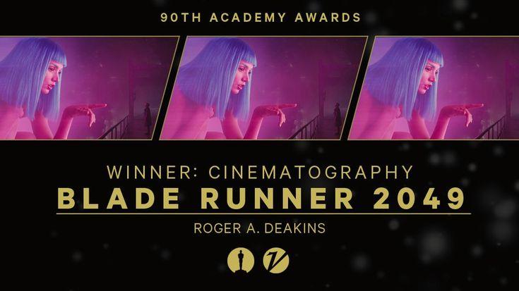Image result for Best Cinematography Blade Runner 2049