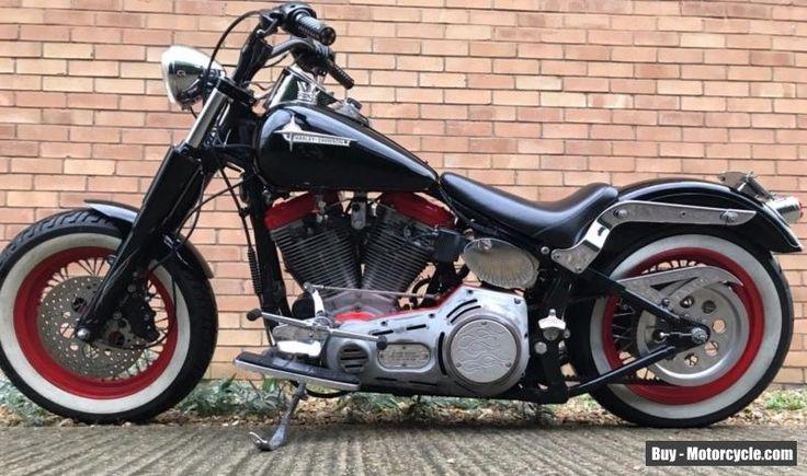 1956 Harley Davidson Softail Evolution  #harleydavidson #softail #forsale #unitedkingdom