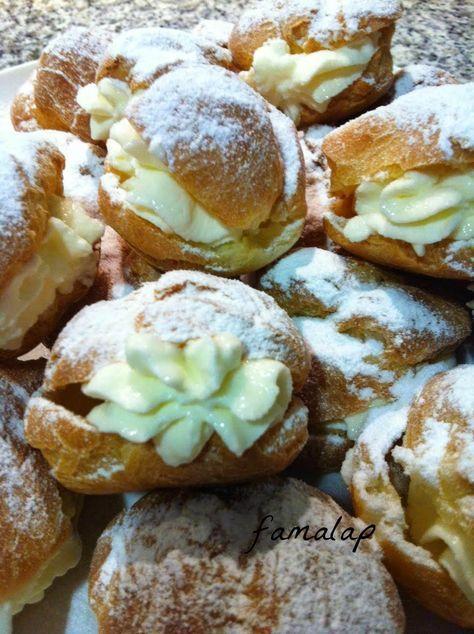 Cocina Fácil Sin Gluten: PROFITEROLES #singluten o BOCADITOS de nata