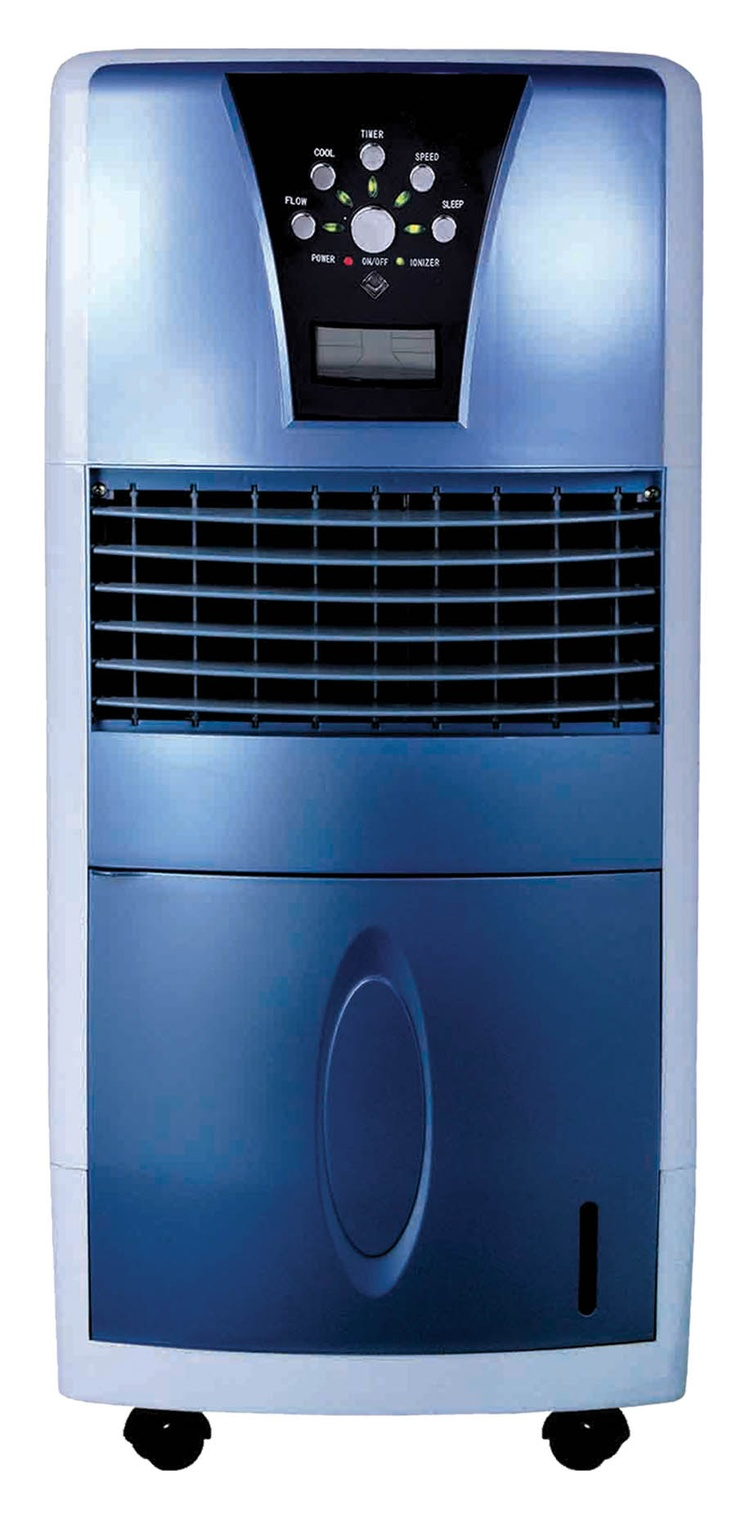 Air Cooler Humidifier Air Filtration And Fan With Ionize