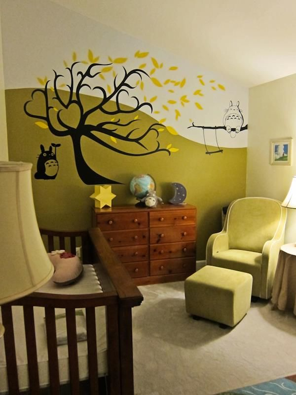 Our Totoro Nursery!