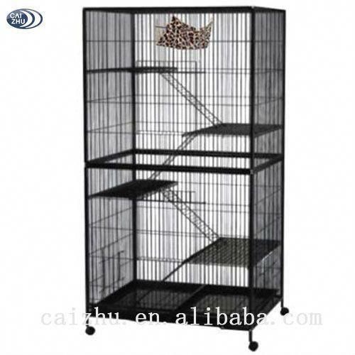 4 Level Wrouht Iron Large Indoor Cat Cage 60 80 Parrotcageideas Cat Cages Cat Cages Indoor Indoor Cat Enclosures