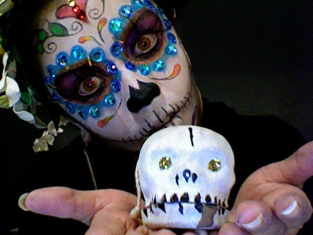 Sugar Skull Makeup Tutorial!  : Image 1 of 4