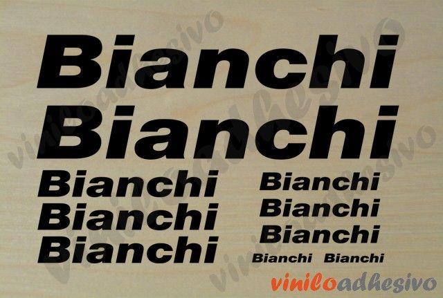 Bianchi kit - Pegatinas para bicicleta