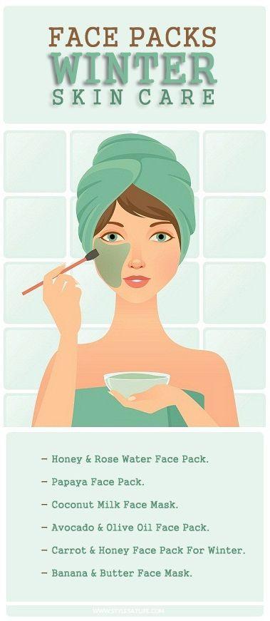 6 Homemade Face Packs For Winter Skin Care.